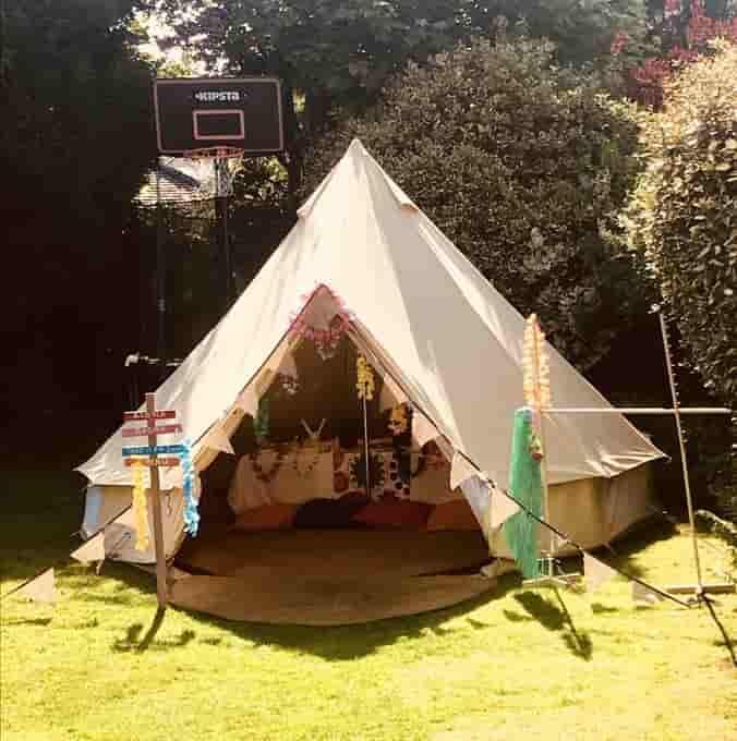 bell tent hire christchurch