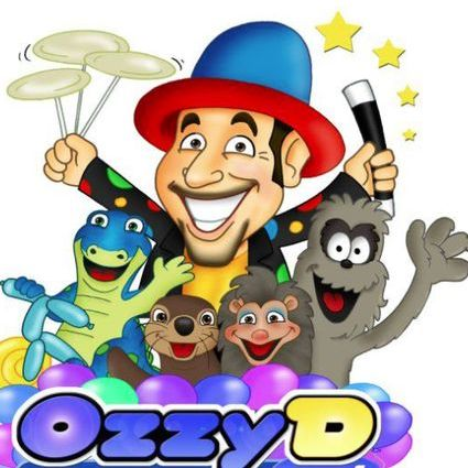 Ozzy D - Children Entertainment , Exeter,  Children's Magician, Exeter Balloon Twister, Exeter Face Painter, Exeter Children's Music, Exeter
