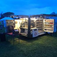 Mobile Gourmet Kitchen Burger Van