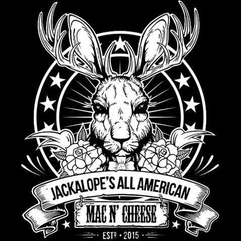 Jackalope's All American Burger Van