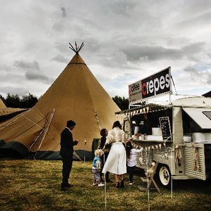Vintage Citroen Events Pizza Van