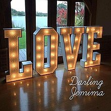 Darling Jemima Love Event Equipment