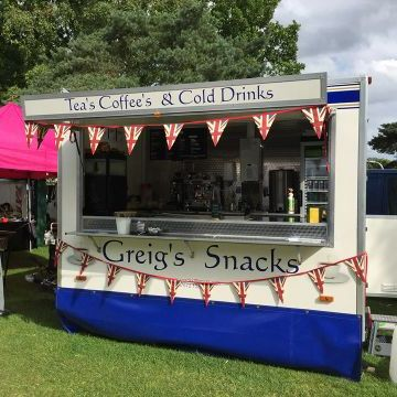 Greig's Snacks - Catering , Lincoln,  Coffee Bar, Lincoln Street Food Catering, Lincoln Mobile Caterer, Lincoln Burger Van, Lincoln