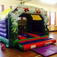 Bouncing Crazy Bouncy Castle Hire Children Entertainment