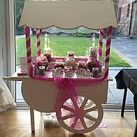 Sweet Heart Candy Carts Marquee & Tent