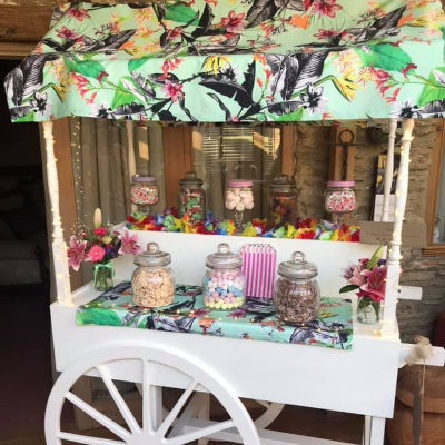 A Sweet Celebration Sweets and Candies Cart