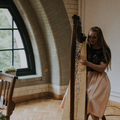 Harpist Christine Palethorpe Harpist