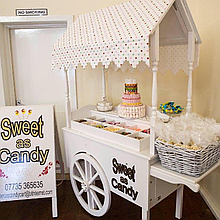 Sweet as Candy Sweets and Candies Cart