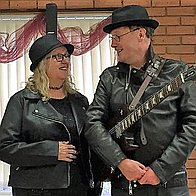 The Guitarist and Her Live Music Duo