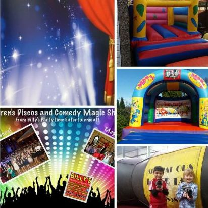 Billy's Partytime Entertainments - DJ , Preston, Children Entertainment , Preston, Games and Activities , Preston,  Bouncy Castle, Preston Children's Magician, Preston Mobile Disco, Preston Children's Music, Preston Laser Tag, Preston