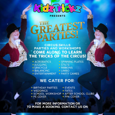 KidzTrickz - The Greatest Parties Circus Entertainer