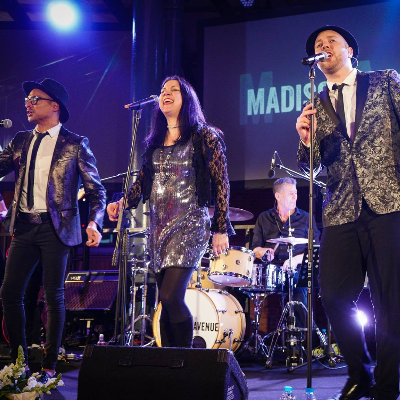 Madison Avenue UK Function & Wedding Music Band