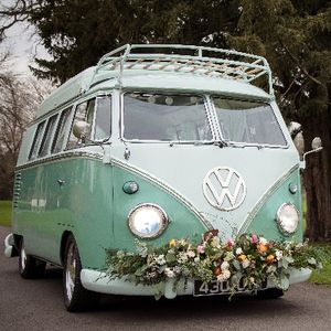 McTrigg Campers - VW Splitscreen Wedding Hire Chauffeur Driven Car