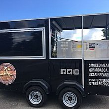 BBQ catering trailer Food Van