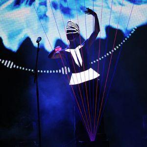 "Laser Harp Show ""novaЯ"" Harpist"