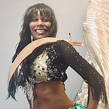 Sandrine Anterrion Belly Dancer