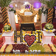 Momentz By Rofia Sweets and Candies Cart