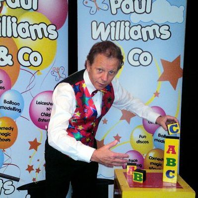Paul Williams & Co - DJ , Leicestershire, Children Entertainment , Leicestershire, Event Equipment , Leicestershire,  Children's Magician, Leicestershire Karaoke, Leicestershire Balloon Twister, Leicestershire Face Painter, Leicestershire Mobile Disco, Leicestershire Children's Music, Leicestershire