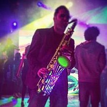 Rob Mach Sax Wedding DJ