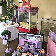 ASJ Catering & Events Candy Floss Machine