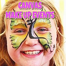 Canvas Make Up Events Face Painter