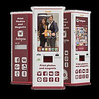 Lomobil - Innovative Photo booth - Kiosk of Instant Print on magnets and polaroids Event Equipment