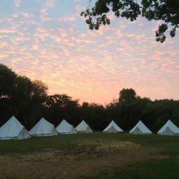Dorset Bell Tents Marquee & Tent