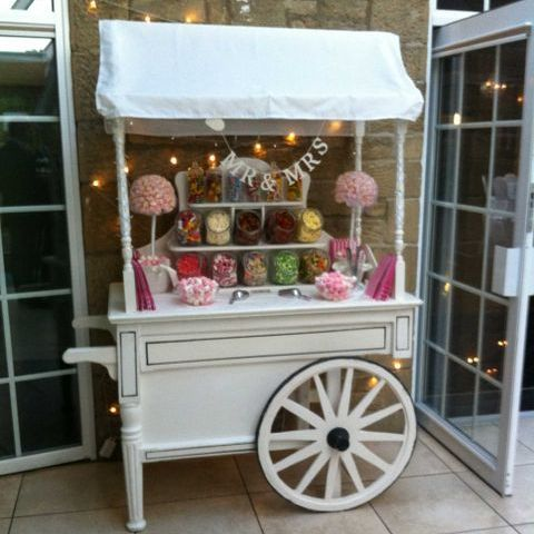 Sweets & Treats Popcorn Cart