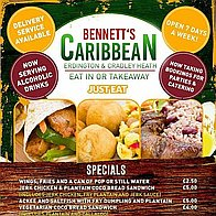 Bennetts Caribbean Children's Caterer