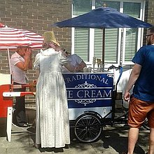 Midlands Icecream Trikes Popcorn Cart
