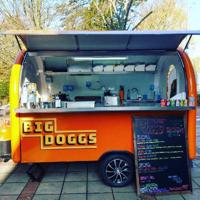 Big Doggs Food Van
