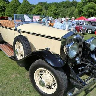 Vintage Rolls Royce Phantom Open Tourer Transport
