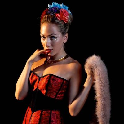 Moss Teddy Belle Burlesque Dancer