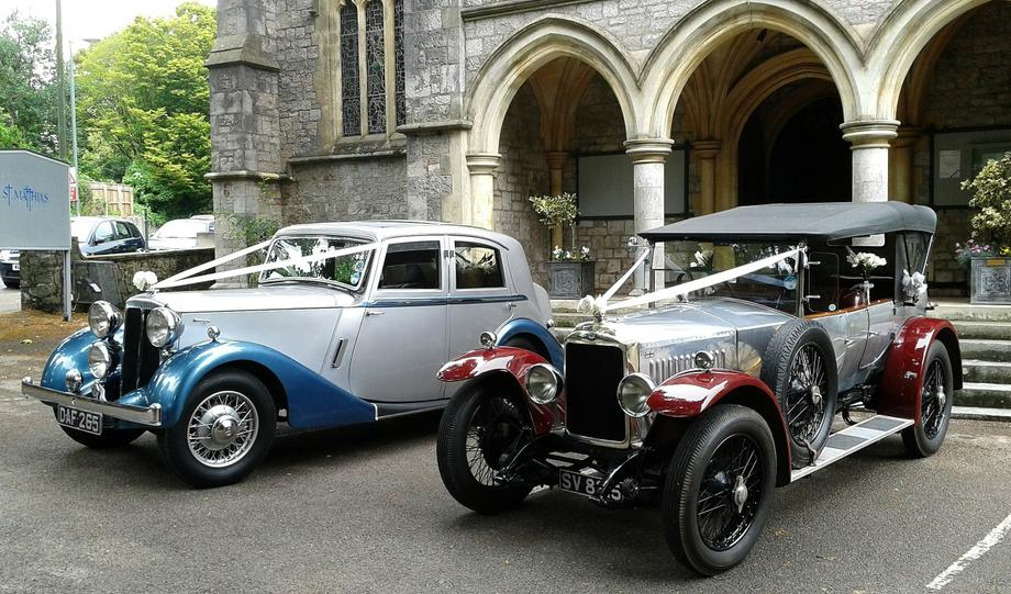 Celebration Vintage Cars - Vintage & Classic Wedding Car Brixham , Devon