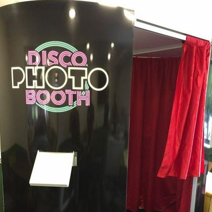 Disco Photo Booth Photo or Video Services
