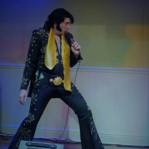 James Burrell as Elvis Presley Impersonator or Look-a-like