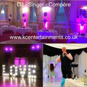 KC Entertainments UK Wedding Singer
