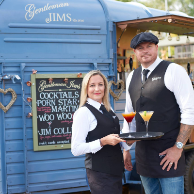 Gentleman Jim's Mobile Bar Cocktail Bar