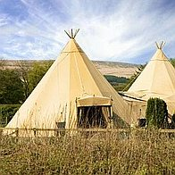 Castle Marquees of Burley Tipi