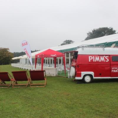 The pimms van Mobile Bar