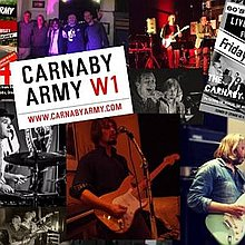 Carnaby Army Vintage Band