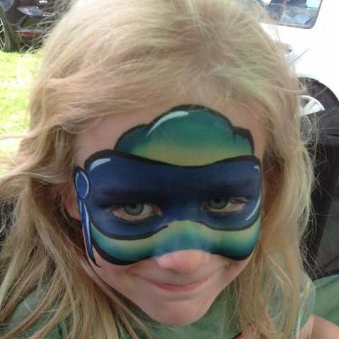 Filigree Face and Body Art Children Entertainment