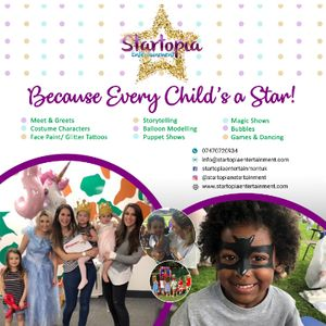Startopia Entertainment Children's Magician