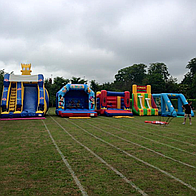 Sudbury and Cornard Bouncy Castles and Soft Play Hire Sumo Suits