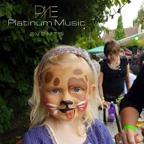 Platinum Face Painting Mobile Disco