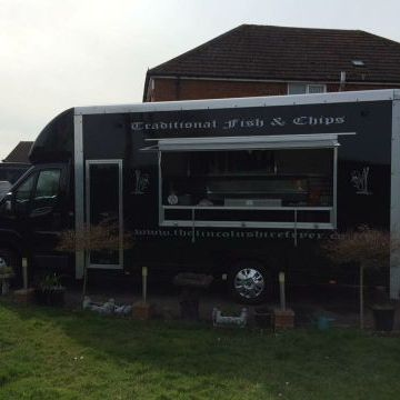 The Lincolnshire Fryer - Catering , Lincoln,  Fish and Chip Van, Lincoln Food Van, Lincoln Street Food Catering, Lincoln