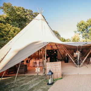 Garden Weddings Tipi Hire Big Top Tent