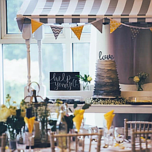 Sparkle & Lace Events Popcorn Cart