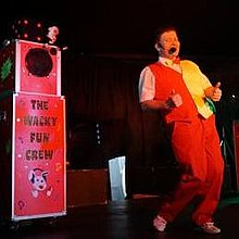 Mr Wacky Comedy Magician all ages catered for Games and Activities