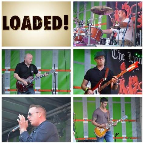 Loaded - Live music band , Wakefield,  Function & Wedding Music Band, Wakefield Rock Band, Wakefield Pop Party Band, Wakefield Indie Band, Wakefield